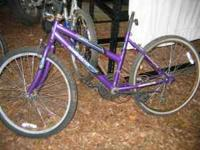 4 older used bicycles good for restoration or parts. 2
