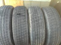 *4 Certified used tires 185 70R14 almost new, with 90%