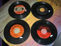 4 Vintage 45 records All play great, great condition