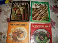 4 Vintage Shooter's Bible Books. The years are 1973,
