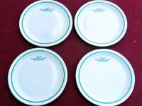 These are four vintage Ogden UT BPOE Elks Lodge salad