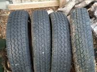 (4) VW Volkswagen beetle tires. (2) tires are 16SR15 &