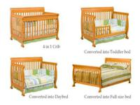 The Babi Italia Pinehurst Stationary Crib in natural