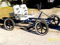 "Rhodes Car = 4 Wheel, 6 Speed, 3/4"" Axles, Disc Brakes,"