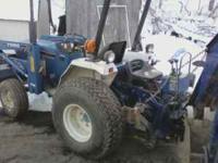 1996-97 1520 Ford Tractor Backhoe 3 cylinder diesel