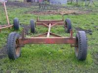4 wheel running gear New Holland 250.00 Cash only Brad
