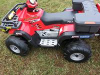 I have 2 polaris sportsman 2X made by peg perego for