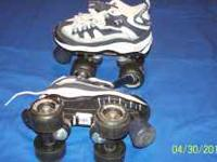 """4-Wheeler"" Kids Quad-Style Roller Skates: Great Shape"