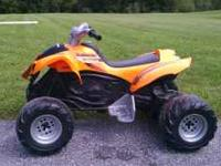 Power Wheels Kawasaki 4 wheeler Contact Dennis at