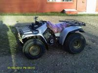 2 different 4Wheelers for sale at $1250 each. Both are