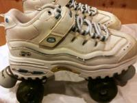 Never ever Used 4 Wheeler Skechers Roller Skates 81/2