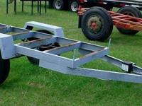 "4' x 7'6"" frame on this tagalong trailer. 4,000 lb."