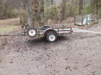 Good Home made atv trailer. New Wiring and lights,
