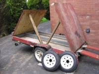 tractor supply 4'x8' utility trailer that i built to