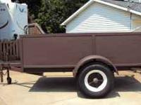 4 x 8 utility trailer, heavy duty, brakes, 2 x 6