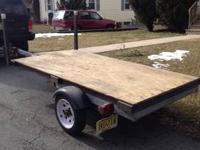 I am selling my 4X8 utility flat bed trailer with 12