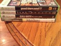 I have four games (Grand Theft Auto V, Halo Reach, Call