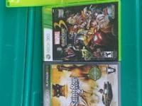 Sell 4 xbox 360 games all for 30   show contact info