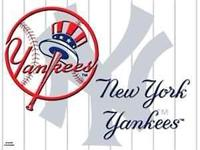 Selling 2 or 4 Excellent NEW YORK YANKEES Tickets BELOW