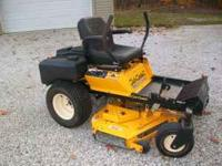 Bought brand new in Sept. 2008. Cub Cadet Z Force zero