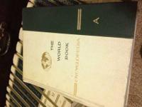 Complete twenty Volume Set ofThe World Book