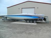 Twin 575 Super Charged Lathem Steering  Custom Blue and