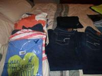 This listing is for a lot of AE clothes. I have five