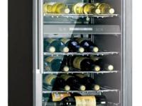 Brand New 40 Bottle Capacity Dual-Zone Wine Cooler with