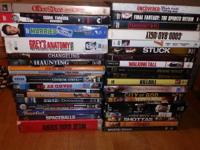 I have 40 + DVD's and TV Show's for sale.  Movies