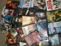 all DVDs are used (not selling single DVDs) they all