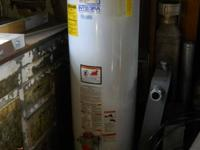 This is a Richmond 40 gallon water heater that was made