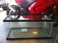 40 gallon tank clean 4 new owner $70 obo..... call