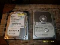40 gb hard drive for sale i know they are not worth