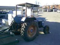 40 HP Long Tractor 3 cylinder diesel. It runs good. It