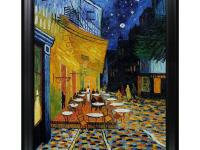 30 in. x 40 in. oil painting. On Canvas Cafe Terrace at