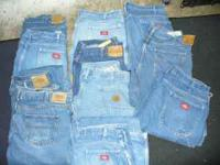 40 INCH WAIST MENS JEANS, ALL IN GOOD USED CONDITION,