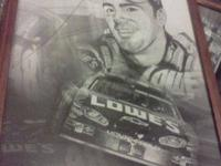 I AM SELLING A JIMMIE JOHNSON PRINT AND THIS PRINT IS