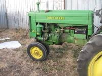 For sale I have a nice 40 John Deere with 3pt.,