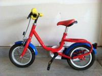 This bike is designed for your child's safety. Has both