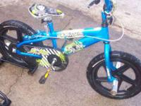 "mongoose 16"" bmx, Ka-Pow, nice bike with rear hand"
