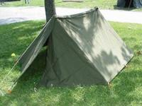 Heavy Duty Military Canvas Double-flap system snaps