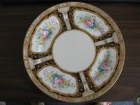 HERE IS A BEAUTIFUL NIPPON PLATE, HAND DESIGNED WITH