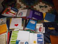College school books and supplies.Sociology 1010, Art