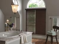FAUX WOOD BLINDS  Faux wood blinds offer homeowners all