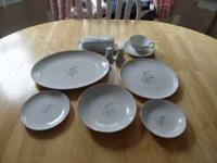 40 pc set of dishes. Smoke free home. Good condition,