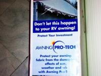 3 section of RV Awning Pro Tech..each section is 51