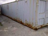 40x8x8 Storage container. Doors on both ends. These