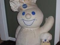 For sale is a VERY rare, SUPER LARGE plush Pillsbury
