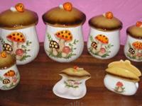I have for sale for $40 a vintage set of mushroom