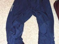 I have Girls Columbia Snow Pants Size S -M. They are